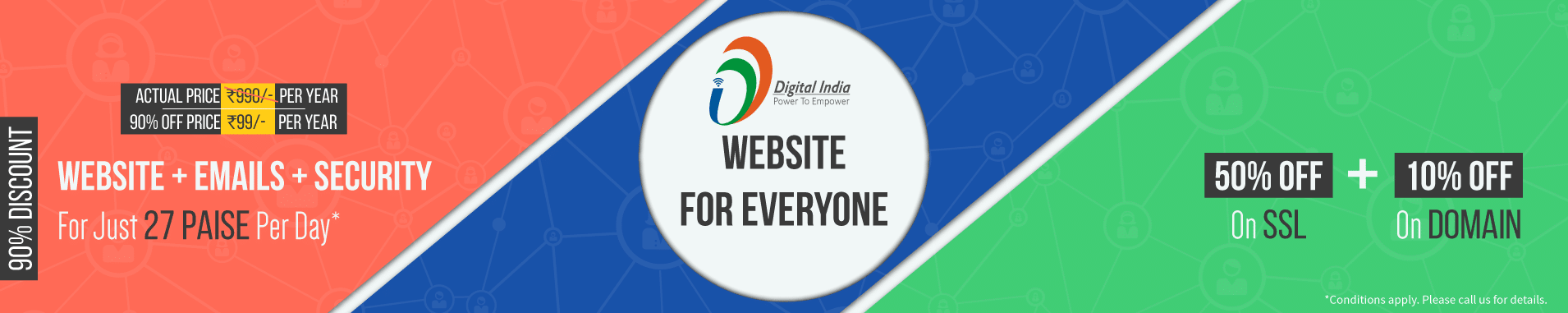 ServerCake India joins Digital Inida's Initiative Website for All